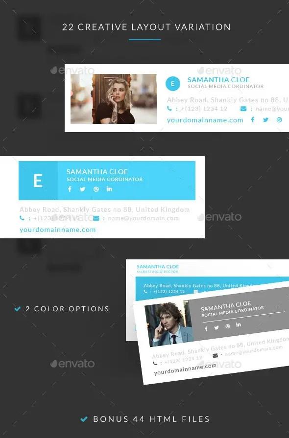 Creative E-signature Templates