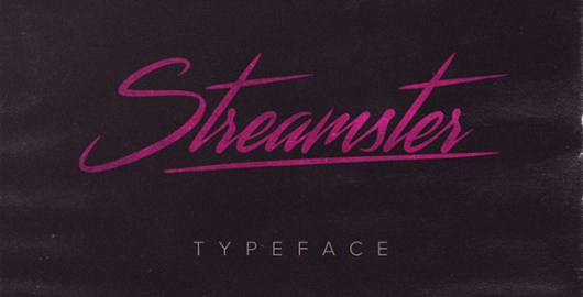 Streamster Typeface