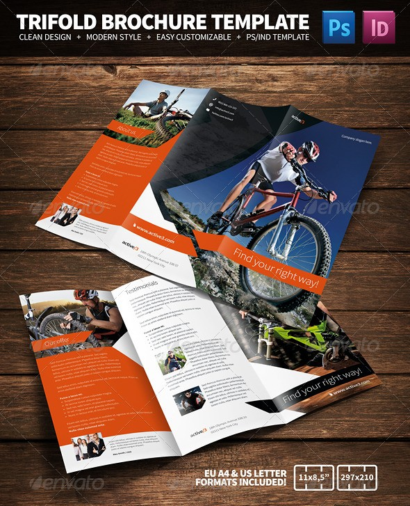 Activities Multipurpose Tri-Fold Brochure