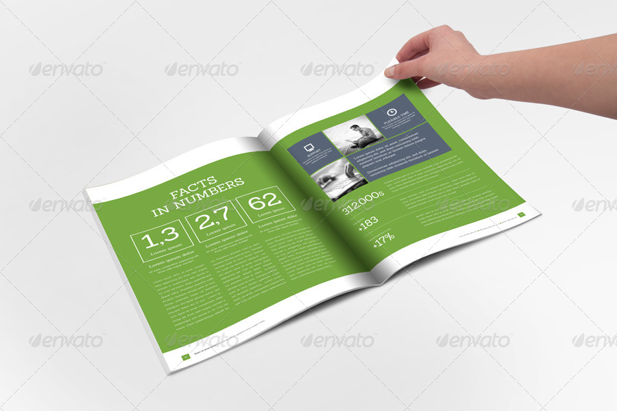 32+ InDesign Annual Report Templates For Corporate Businesses ...