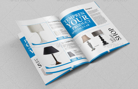 Brochure / Catalog 8 Pages Mockups