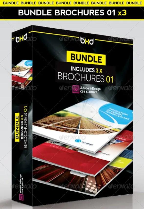 Brochures Bundle - InDesign Layout