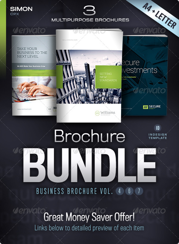 Business Brochure Bundle Vol. 4-6-7