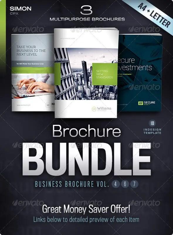 Business Brochure Bundle Vol. 4-6-7