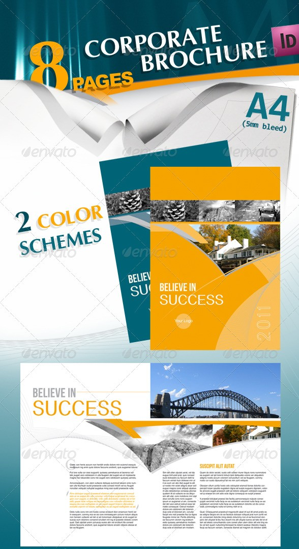 Corporate A4 Brochure
