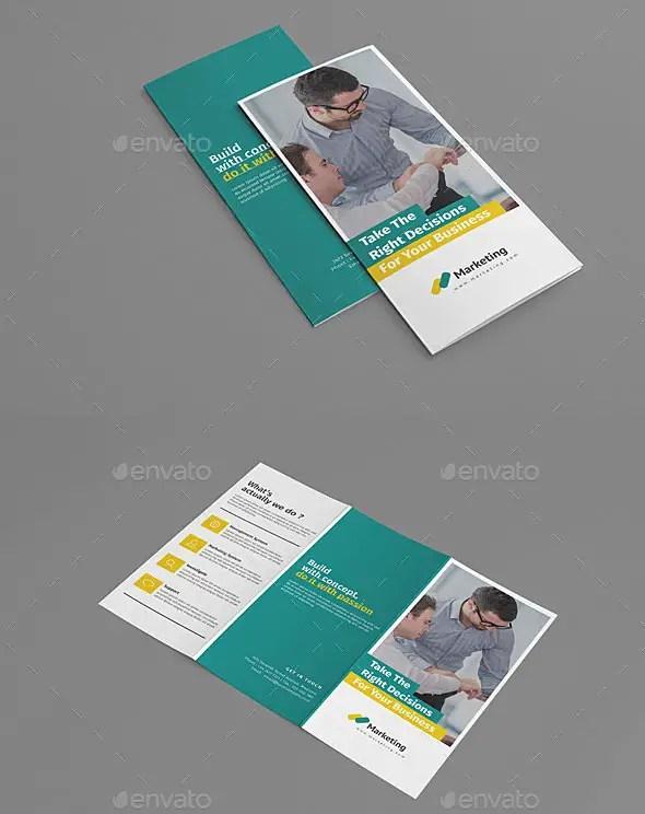 Minimalist Tri-fold Brochure Template