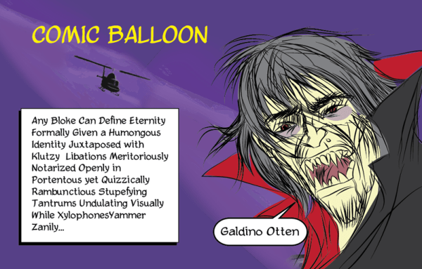Comic Balloon