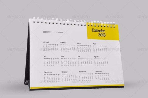 Photorealistic Calendar Mockups
