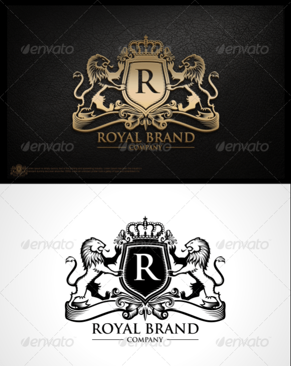 Royal Brand Logo Template