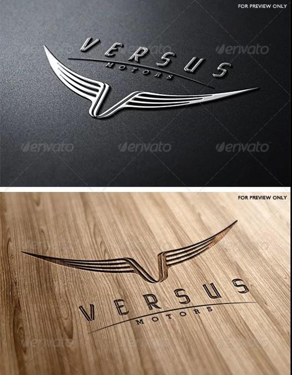 Versus Motors Logo Template
