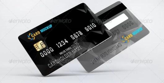 Bank Card Mockup
