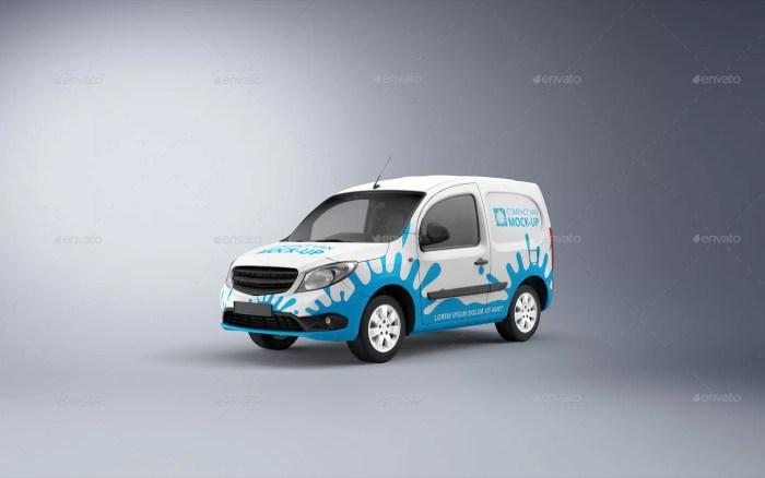 Compact Van Mockup