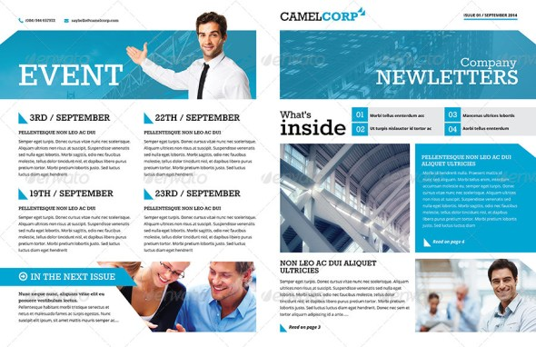 Corporate Newsletter Vol 1