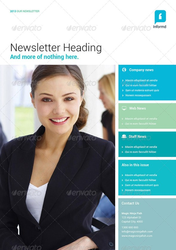 Informd - Newsletter Template