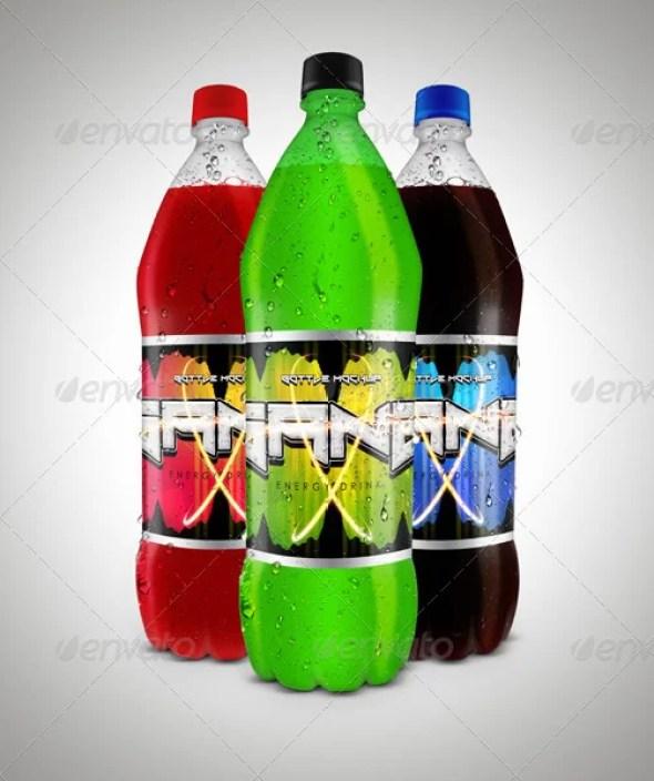 Juice Bottle Mockup Vol. 1