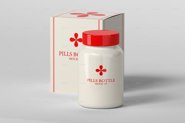 Pills Bottle Mock-Up Set.2