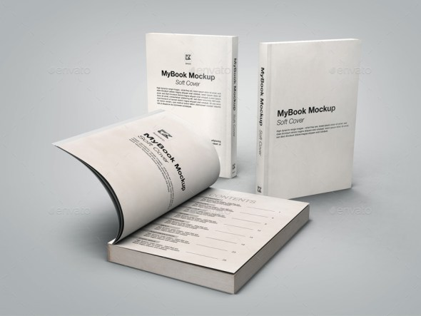 Soft Cover Mockup Bundle