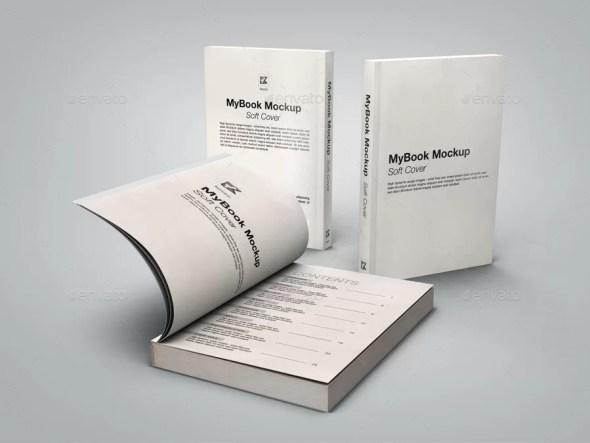 Soft Cover Mockup Bundle