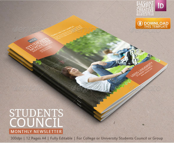Student Newsletter Template