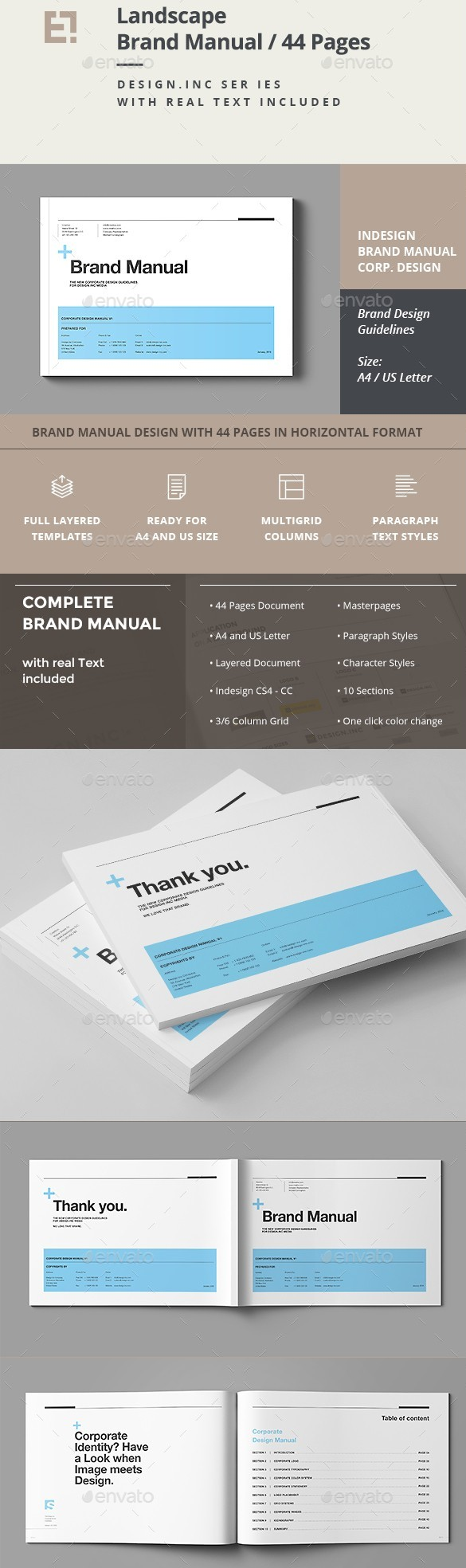 23 Best Brand Guidelines Templates PSD InDesign Download