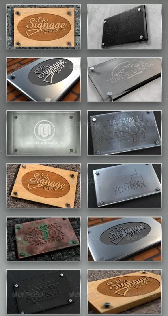 Signage Mockup Bundle