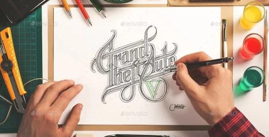 Sketchbook Mockup / Artists Edition