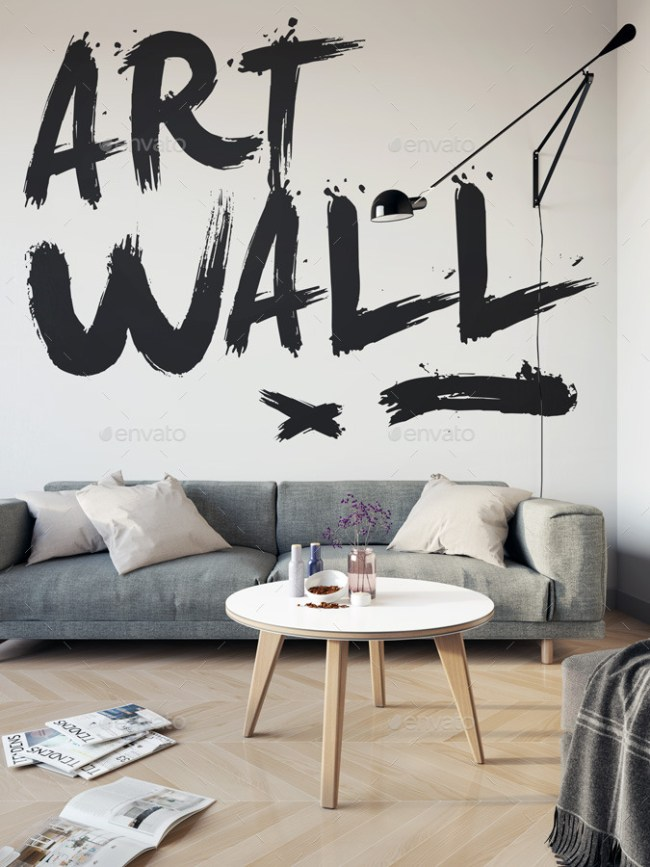 Art Wall Mock-up
