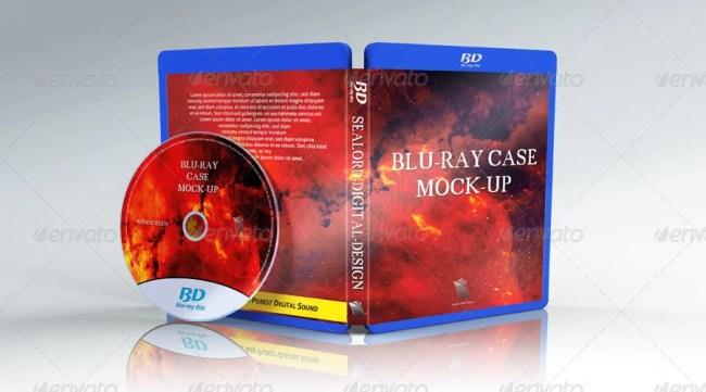 Blu-ray Case Mockup