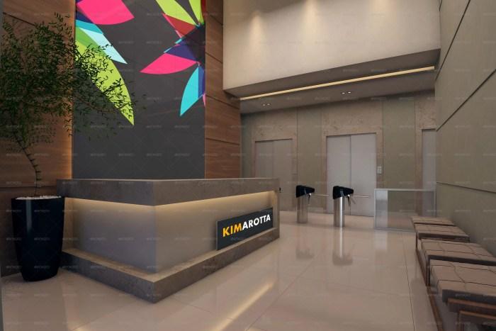 Building Office Branding Mockup