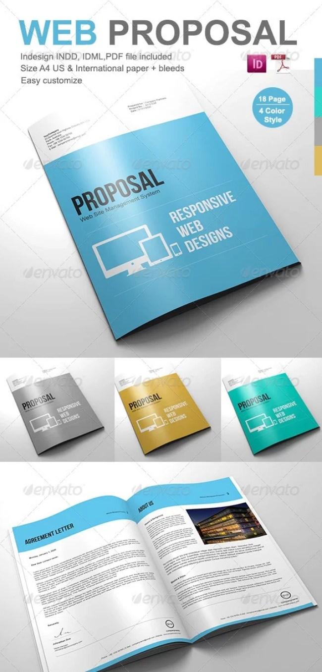 web proposal templates