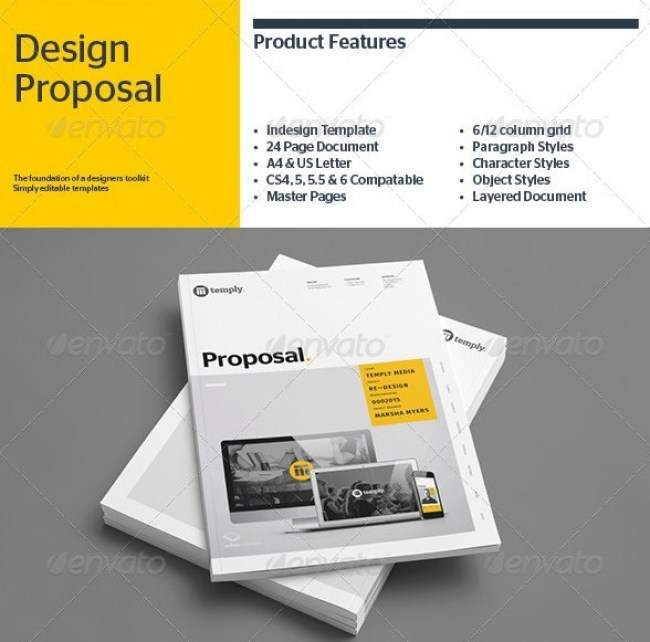 Free Proposal Template Indesign Best 25 Business Proposal Template