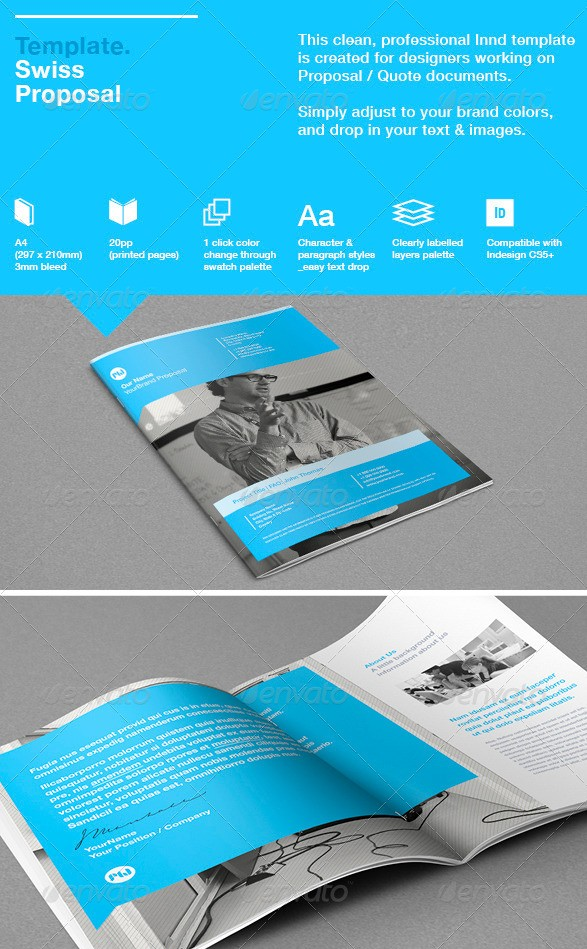 48+ Best Business Proposal Templates In Indesign Psd U0026 Ms Word