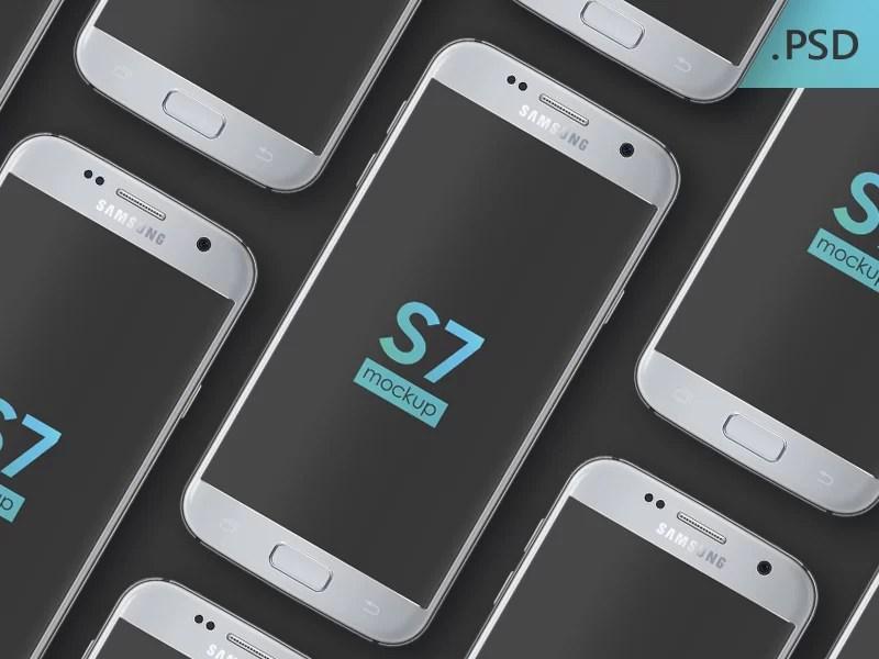 Free Galaxy S7 Mockup
