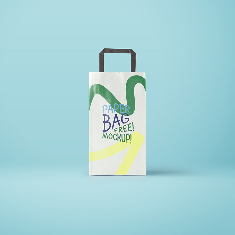 best shopping bag mockup design