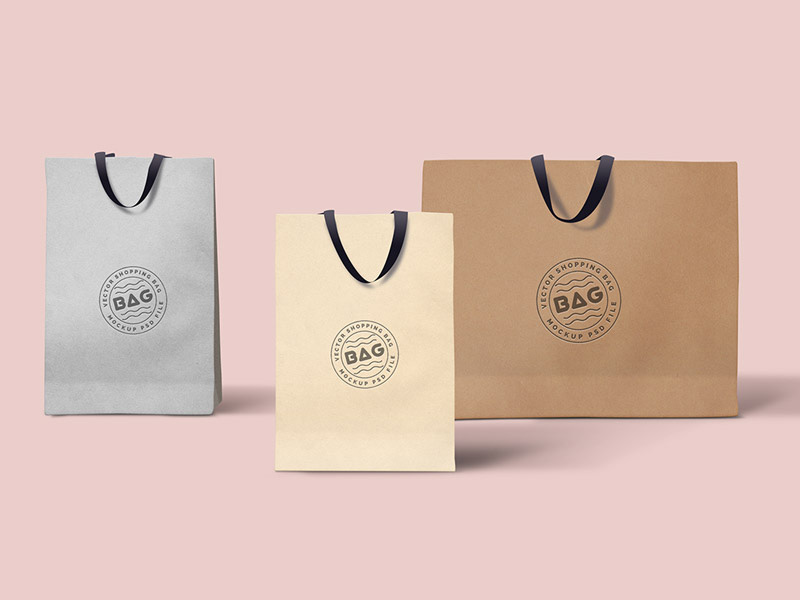 best shopping bag psd template
