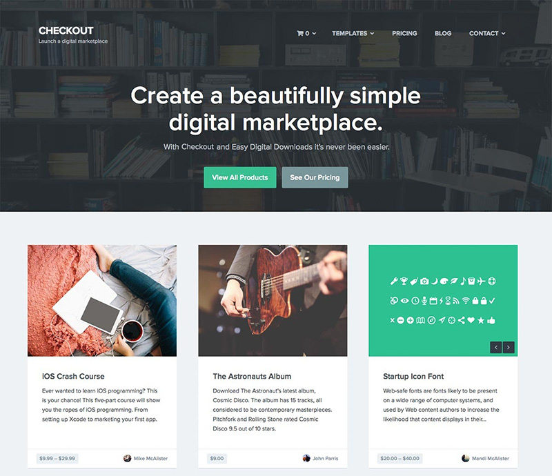 ecommerce theme for wordpress free download