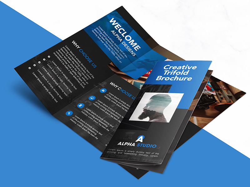 25 best free corporate brochure template design psd for Brochure templates for photoshop