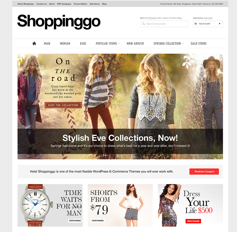best premium wordpress ecommerce themes