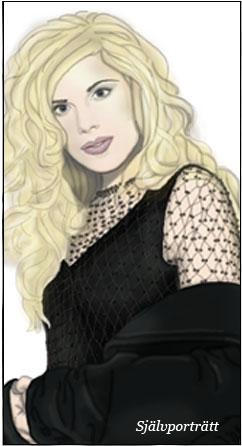 Avritat porträtt (i Photoshop) av mig själv