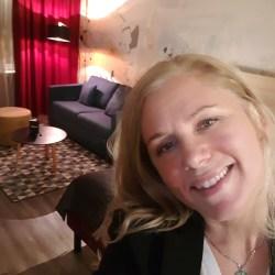 Selfie från mitt rum på fina Calmar Stadshotel