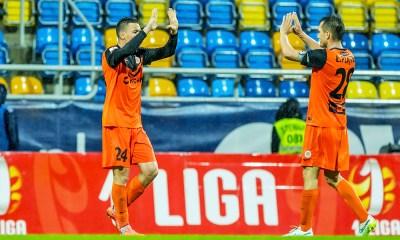 Zaglebie Lubin Celebrate 1 Liga 1