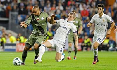 Real Madrid - Legia 10 18 2016