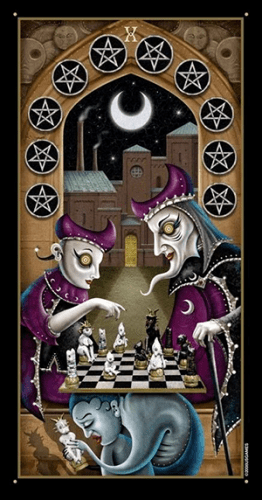 deviant moon ten of pentacles
