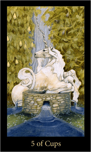 Five of Cups