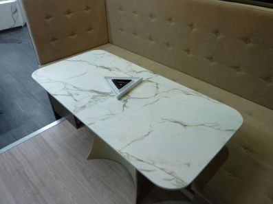 Bespoke table made out of Dekton