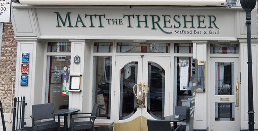 Matt The Thresher restaurant Dublin