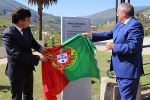 O Secretário de Estado das autarquias locais esteve presente no município mesão-friense | Foto: Direitos Reservados