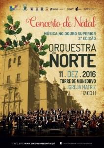 Orquestra do Norte atua na Igreja Matriz de Torre de Moncorvo este domingo / Foto: Direitos Reservados
