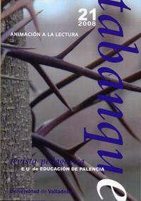 TABANQUE. REVISTA PEDAGÓGICA 21 (2008) - ANIMACIÓN A LA LECTURA