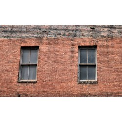 Small Crop Of Red Brick Wall